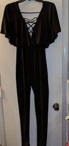 Pants - Skinny legged body suit